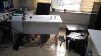 SUÇ DUYURUSU - Dicle Elektrik'e Çirkin Saldırı Kameraya Yansıdı