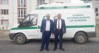 KEFEN - Diyarbakır Büyükşehir Belediyesinden Çüngüş'e Cenaze Aracı