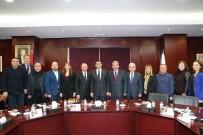 GAZIANTEP TICARET ODASı - Gaziantep Kulübü'nün Yeni Yönetim Kurulu GTO'yu Ziyaret Etti