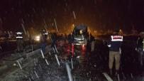 GİZLİ BUZLANMA - Gizli Buzlanma Kaza Getirdi