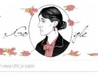 Google'dan Virginia Woolf için doodle