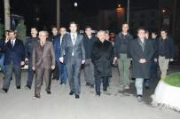 CAMİ İNŞAATI - İçişleri Bakan Yardımcısı Ersoy Bismil İlçesini Ziyaret Etti