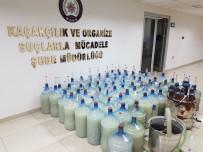 DAMACANA - Kaçak Viski İmalatı Yapan Öğretim Görevlisine Polisten Şafak Baskını