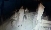 KAR MASKESİ - Kar Maskeli Jeneratör Hırsızları Kamerada