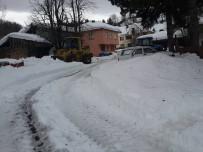 Kastamonu'da 205 Köy Yolu Kar Yağışı Nedeniyle Kapandı