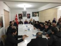 Lapseki Ak Parti İlçe Teşkilatı Çardak Belde Yönetimini Ziyaret Etti