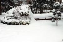 NEVŞEHİR BELEDİYESİ - Nevşehir'de Kar Yağışı Vatandaşların Yüzünü Güldürdü