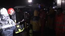 DENİZ POLİSİ - Ordu'da Polis Aracı Denize Düştü