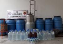 KıRMıZı ŞARAP - Sahte İçki Üreticisine Şafak Baskını