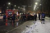 BAĞDAT CADDESI - Sivas'ta Otomobil Takla Attı Açıklaması 1 Ölü, 1 Yaralı
