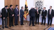 ALMANYA CUMHURBAŞKANI - Steinmeier Müslüman Dernek Temsilcilerini Kabul Etti
