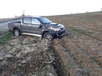 GİZLİ BUZLANMA - Tekirdağ'da Trafik Kazası Açıklaması 1 Yaralı
