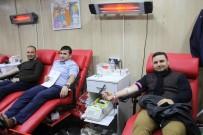ÖMER BİLGİN - TÜGVA'dan Kızılay'a Kan Bağışı