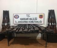 ESENDERE - Yüksekova'da 50 Adet Av Tüfeği Ele Geçirildi