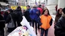 İŞ BIRAKMA - Yunanistan'da Sağlık Çalışanları Grevde