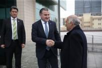 İSLAM DÜNYASI - Bakan Aşkın Bak Filistin Gençlik Ve Spor Bakanı Al-Rajoub İle Bir Araya Geldi