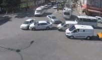 IŞIK İHLALİ - Elazığ'da Trafik Kazaları MOBESE'lere Yansıdı