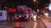 ÇAVUŞBAŞı - İstanbul'da Restoranda Çıkan Yangın Korkuttu