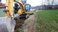 GÖKÇEÖREN - İzmit Belediyesi'nin Köylerdeki Yol Yapım Çalışmaları Devam Ediyor