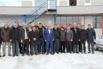 DOĞALGAZ HATTI - Kaman Belediye Başkanı Talu, Muhtarlarla Bir Araya Geldi