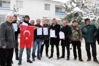 GRUP GENÇ - Karaman'da Vatandaşlar, Afrin Operasyonuna Katılmak İçin Askerlik Şubesine Dilekçe Verdi