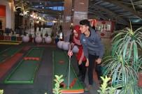 GOLF SAHASI - Kızıltepe'de Bir İlk Mini Golf Sahası Yapıldı