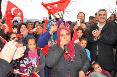 Kürt Annelerden Zeytin Dalı Harekatı'na Destek
