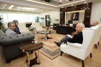 MAHALLİ İDARELER - Mahalli İdareler Derneğinden Başkan Yaşar'a Ziyaret