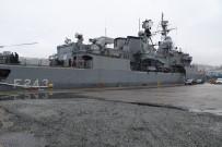UZMAN ERBAŞ - Rize Limanı'na Demirleyen TCG Yıldırım Gemisi Halkın Ziyaretine Açıldı