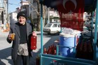 TURŞU SUYU - Seyyar Turşucudan Afrin Şehidi Özalkan'ın Vasiyetini İçin Destek