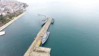 ROMANYA - Üç Savaş Gemisi Sinop'a Demirledi