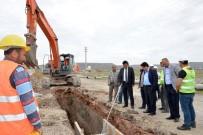 KANALİZASYON ÇALIŞMASI - Aksaray'da Alt Yapı Çalışmaları Devam Ediyor