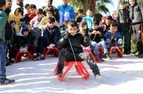 KARDAN ADAM - Antalya'ya Havadan Yağmayan Kar, Karadan Getirildi