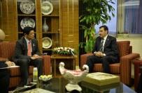SERBEST TICARET ANLAŞMASı - Bakan Tüfenkci, Japonya Ankara Büyükelçisi Miyajima'yı Kabul Etti
