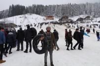 KARDAN ADAM - Bu Yıl 11.'Si Düzenlenen Kardan Adam Şenliği Başladı