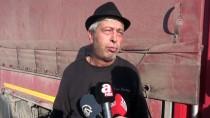 KAPIKULE SINIR KAPISI - Bulgaristan'a Açılan Sınır Kapılarında Tır Kuyruğu