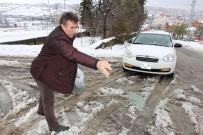 AĞIR VASITA - Buzu Parçalayan Solüsyon İle Kışın Yolda Kalma Derdine Son