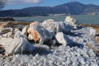 EĞIRDIR GÖLÜ - Eğirdir'de Buz Manzaraları