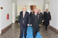 JANDARMA GENEL KOMUTANI - Jandarma Genel Komutanı Org. Çetin Vali Güvençer'i Ziyaret Etti