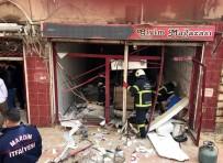 TÜP PATLADI - Mardin'de Tüp Patladı Açıklaması 2 Yaralı