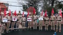 ÇANAKKALE MÜZESİ - 'Onbeşliler'den Zeytin Dalı Harekatı'na Destek