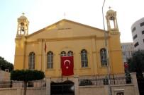 ORTODOKS KILISESI - Ortodoks Kilisesinden, Mehmetçiğe Türk Bayraklı Destek