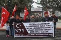 BİZ DE VARIZ - Vatansever Gençler Askerlik Şubesine Akın Etti