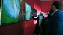RESIM SERGISI - Suriyeli Ressamlar Azez'de Sergi Açtı