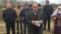 İSTİMLAK - Tarım Alanı Olarak Kullanıldıkları Alana Roman Vatandaşların Gelmesini İstemiyorlar