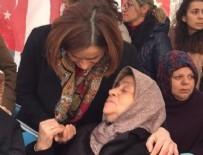 Canan Kaftancıoğlu - Canan Kaftancıoğlu şehit cenazesine katıldı