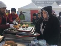 HAMSİ FESTİVALİ - Erciyes'te Hamsi Festivali Yapıldı
