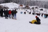 KARDAN ADAM - 'Kardan Adam Şenliği' Renkli Görüntülere Sahne Oldu