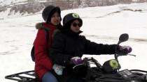 KıLıÇLAR - Karla Kaplı Kapadokya'da ATV Turu
