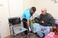 EV TEMİZLİĞİ - Nilüfer'de Hasta Ve Bakıma Muhtaç Yaşlılar Mutlu